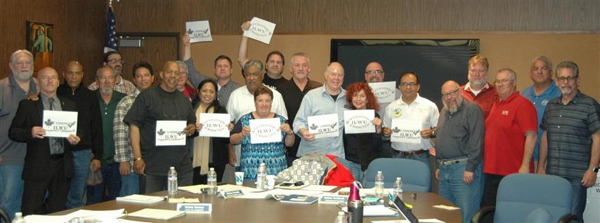 ILWU International Board Sends their Support