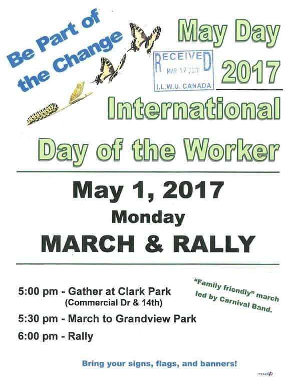 May day poster (Medium)