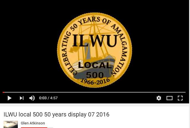 Video Clip ILWU 50th